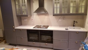 fitted kitchen dundrum grey
