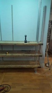industrial scaffold shelves