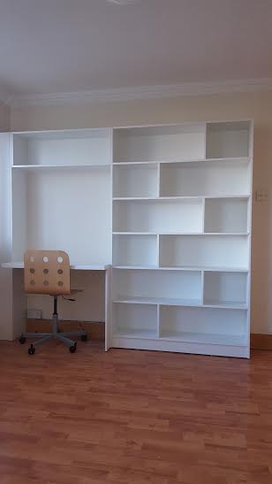 book shelving unit greystones