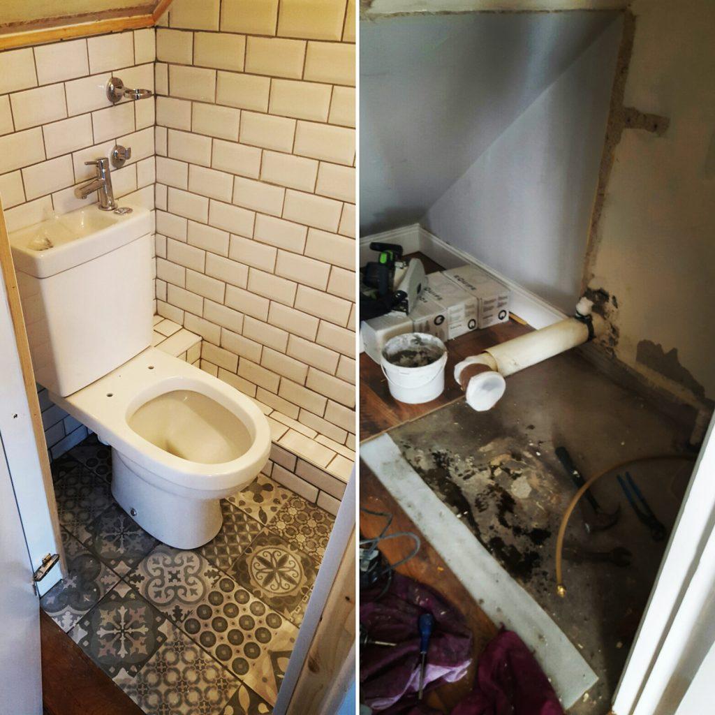 understairs toilet idea dublin