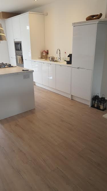 new gloss white kitchen wicklow