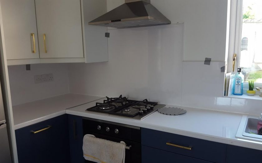 kitchen splashback clontarf