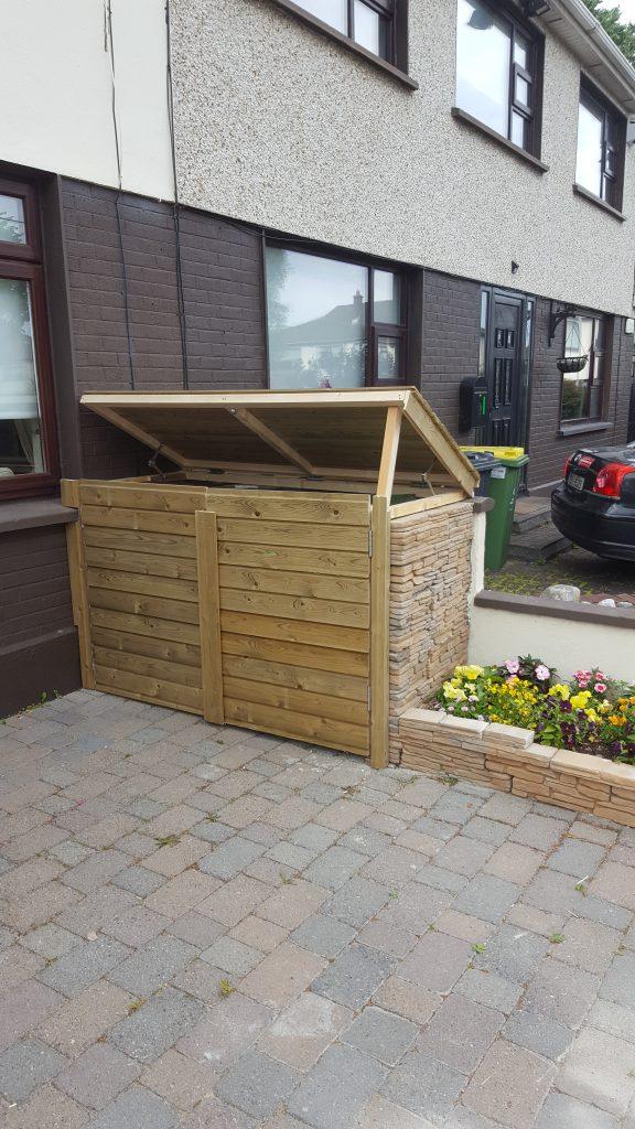wheelie bin shelter dublin