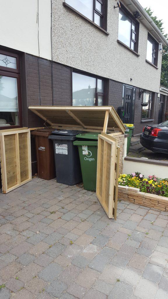 rubbish bin shelter dublin