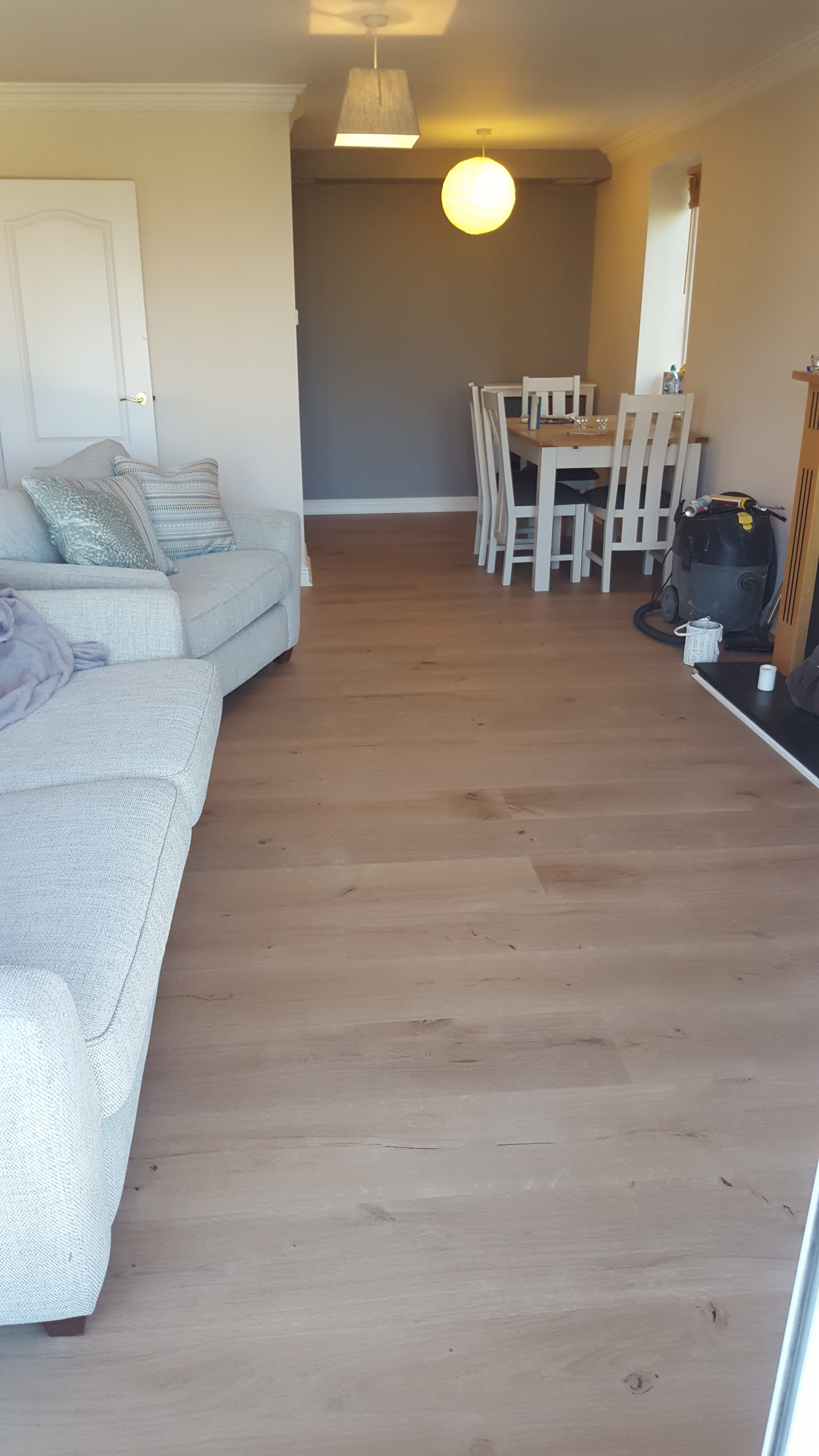 Oak Wide Plank Dublin Balterio Floor