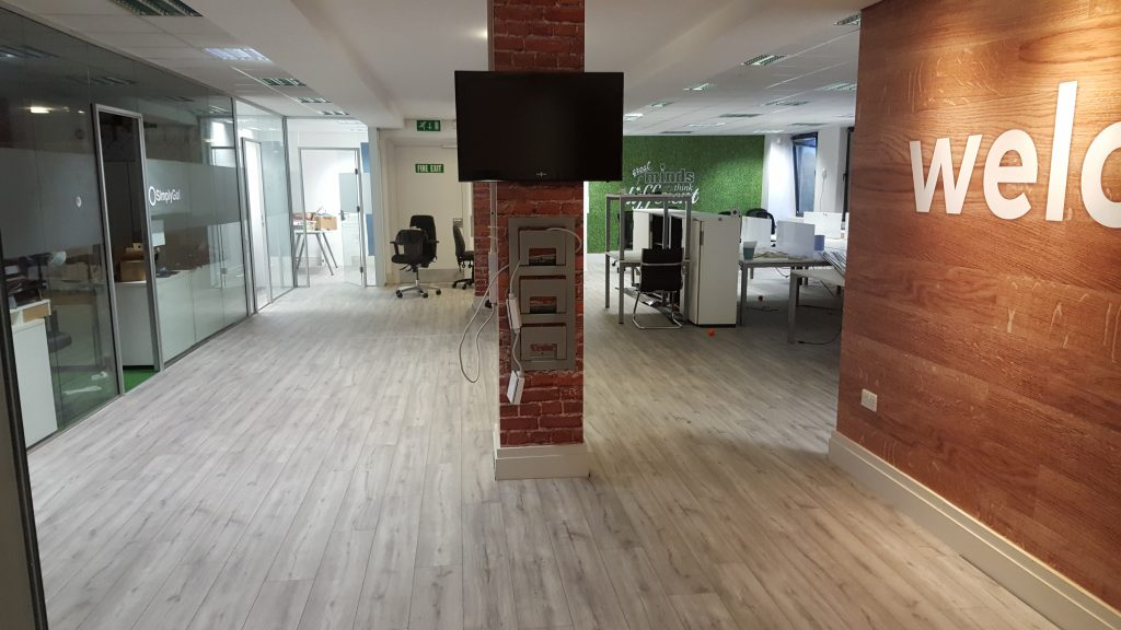 laminate floor office dublin