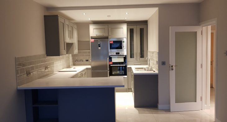 Sandymount Renovation Modern Form Kitchens