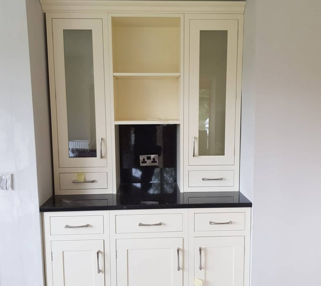 In frame bespoke kitchen