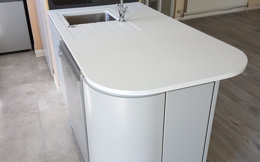 minerva curved worktop